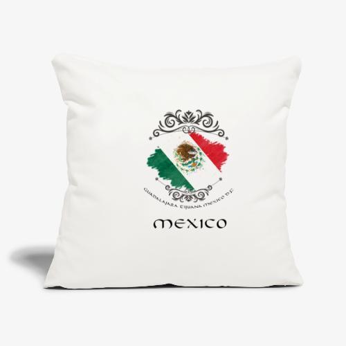 Mexico Vintage Bandera - Sofakissenbezug 44 x 44 cm
