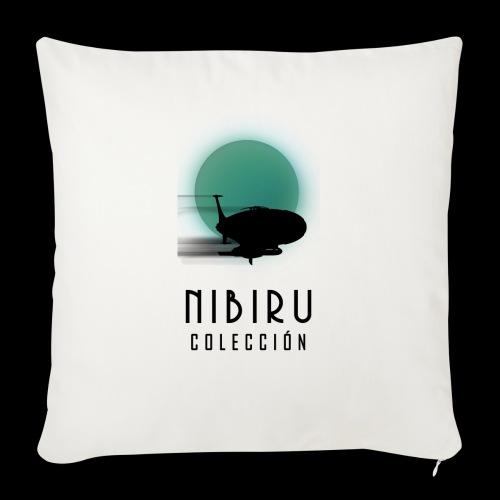 NibiruLogo - Funda de cojín, 45 x 45 cm