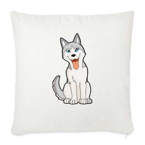 Husky grigio occhi azzurri - Copricuscino per divano, 45 x 45 cm