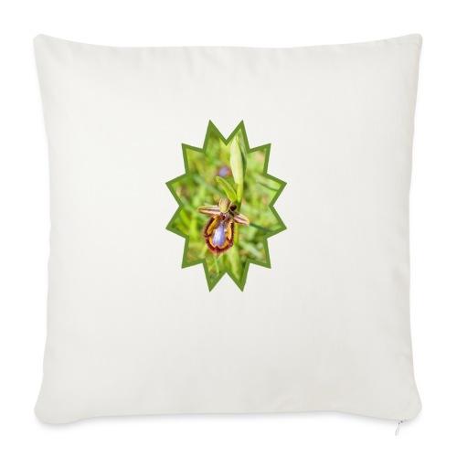 ORCHIDEES 1 - Housse de coussin décorative 45x 45cm