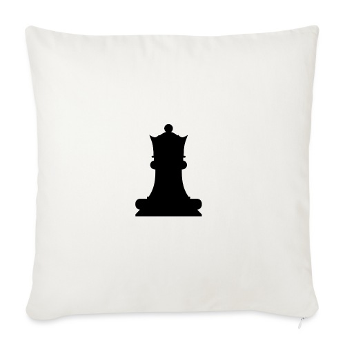 The Black Queen - Sofa pillowcase 17,3'' x 17,3'' (45 x 45 cm)