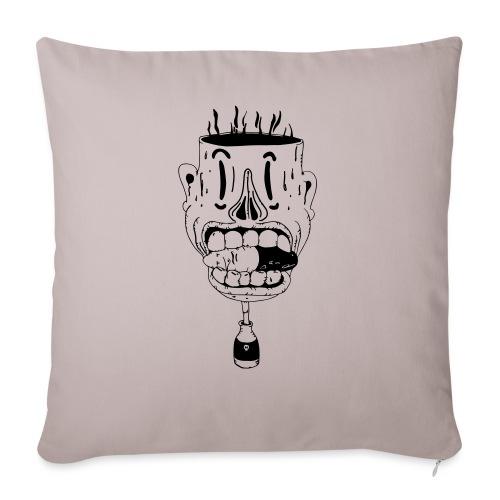 don't take another pill - Sofa pillowcase 17,3'' x 17,3'' (45 x 45 cm)