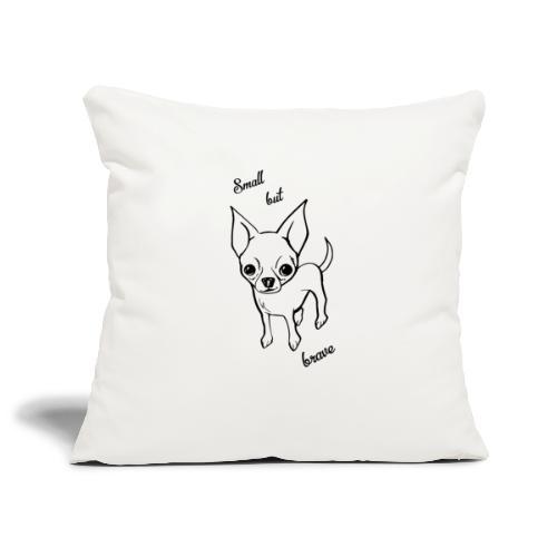 Chihuahua pies - Poszewka na poduszkę 45 x 45 cm