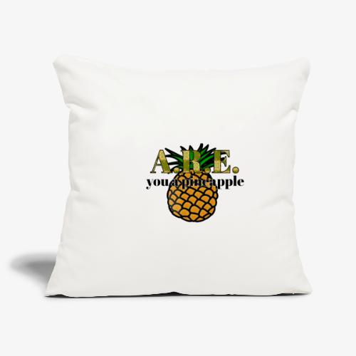 Are you a pineapple - Sofa pillowcase 17,3'' x 17,3'' (45 x 45 cm)