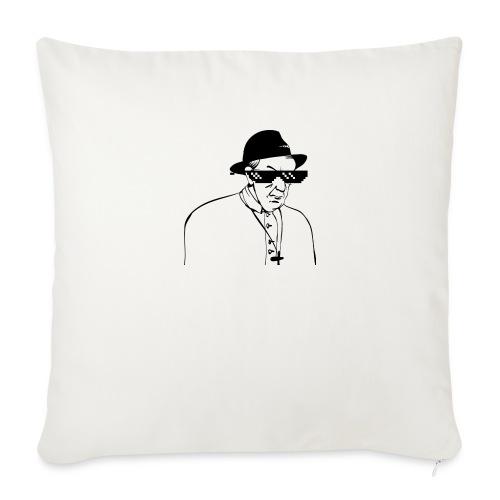 pope slaps woman meme - Copricuscino per divano, 45 x 45 cm