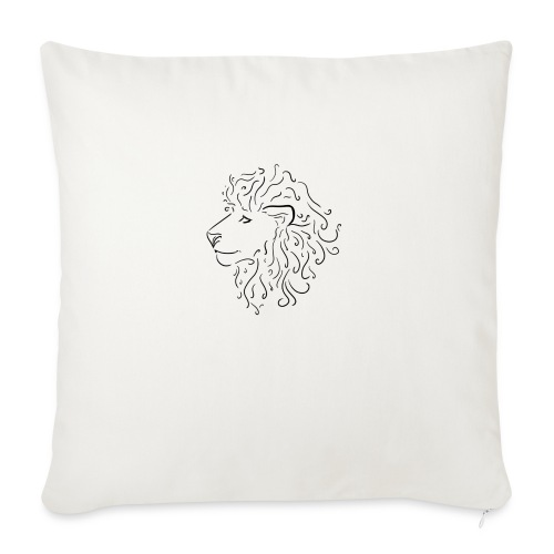 lion - Sofa pillowcase 17,3'' x 17,3'' (45 x 45 cm)