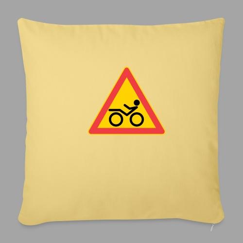 Traffic sign Recumbent - Sohvatyynyn päällinen 45 x 45 cm