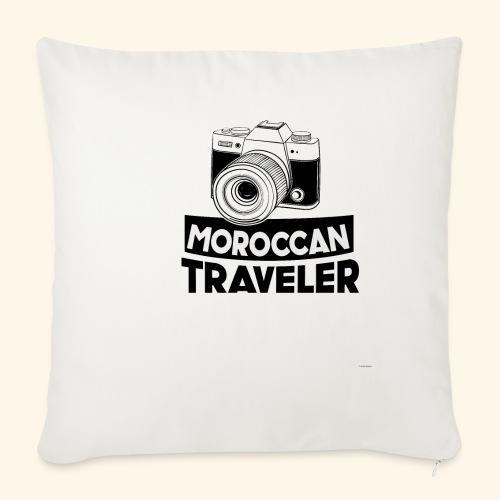 Moroccan Traveler - Housse de coussin décorative 45x 45cm