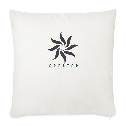 The creator (forgery merch) - Sofa pillowcase 17,3'' x 17,3'' (45 x 45 cm)