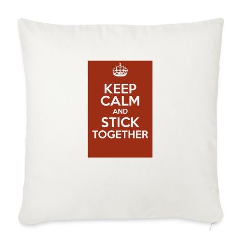 Keep calm! - Sofa pillowcase 17,3'' x 17,3'' (45 x 45 cm)
