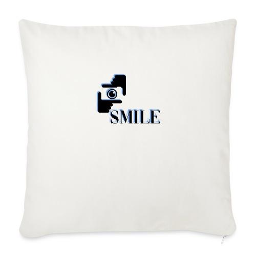 Smile - Housse de coussin décorative 45x 45cm