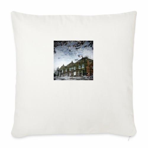Original Artist design * Reflets - Sofa pillowcase 17,3'' x 17,3'' (45 x 45 cm)