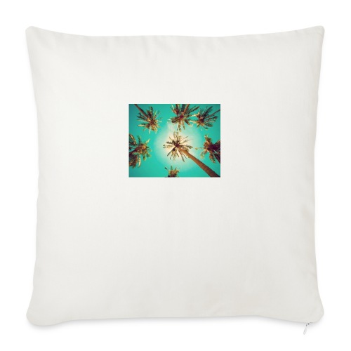 palm pinterest jpg - Sofa pillowcase 17,3'' x 17,3'' (45 x 45 cm)