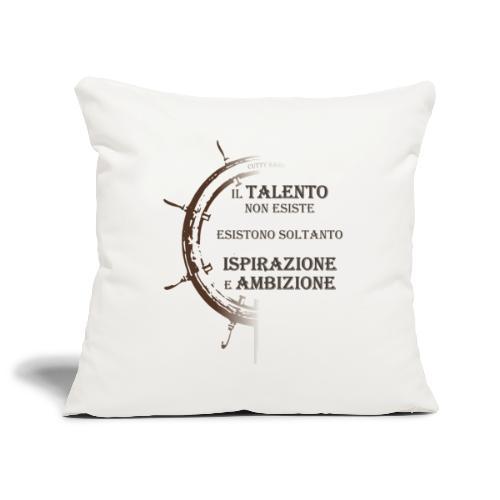 Ispirazione e Ambizione - Copricuscino per divano, 45 x 45 cm