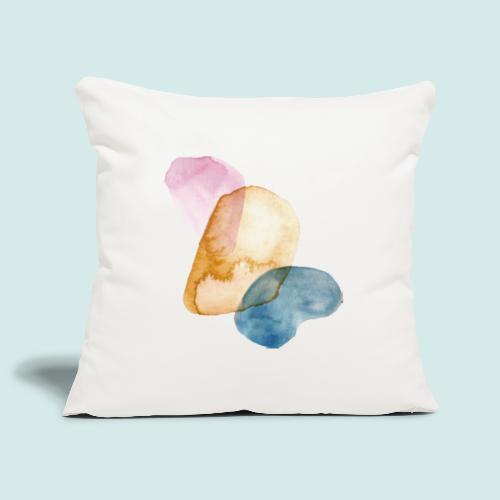 Watercolors - Sofakissenbezug 44 x 44 cm