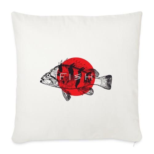 fish - Sofa pillowcase 17,3'' x 17,3'' (45 x 45 cm)