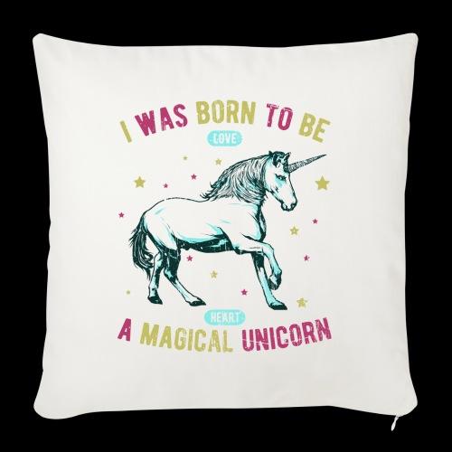 Magical Unicorn - Sofakissenbezug 44 x 44 cm