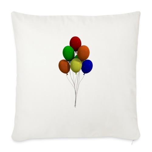 Party Ballons - Sofakissenbezug 44 x 44 cm