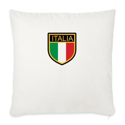 SCUDETTO ITALIA CALCIO - Copricuscino per divano, 45 x 45 cm