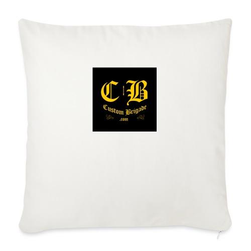 badge003 - Housse de coussin décorative 45x 45cm