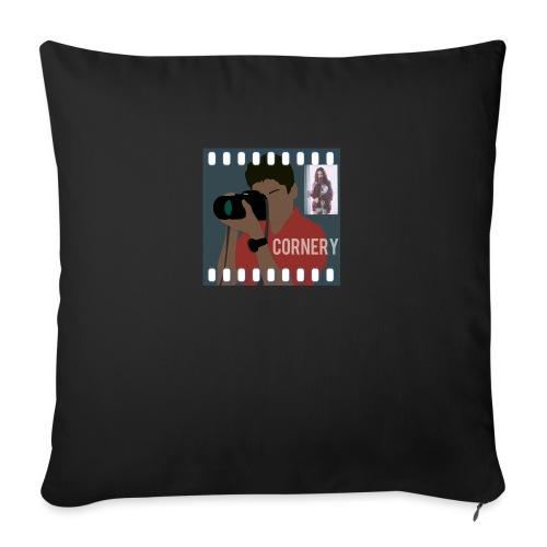 cornery - Copricuscino per divano, 45 x 45 cm