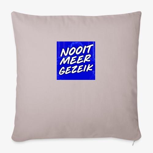 De 'Nooit Meer Gezeik' Merchandise - Sierkussenhoes, 45 x 45 cm