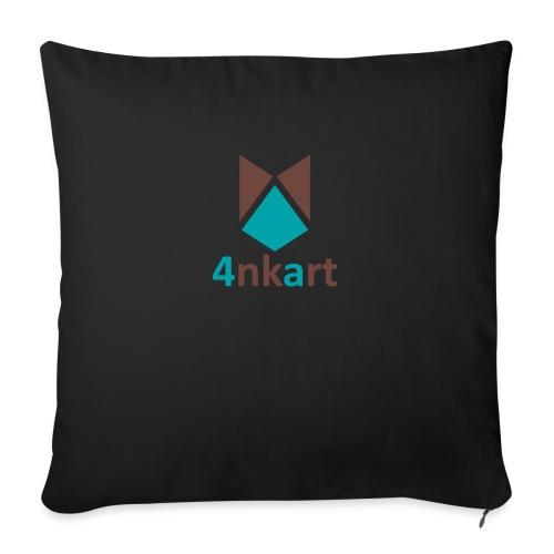 logo 4nkart - Housse de coussin décorative 45x 45cm