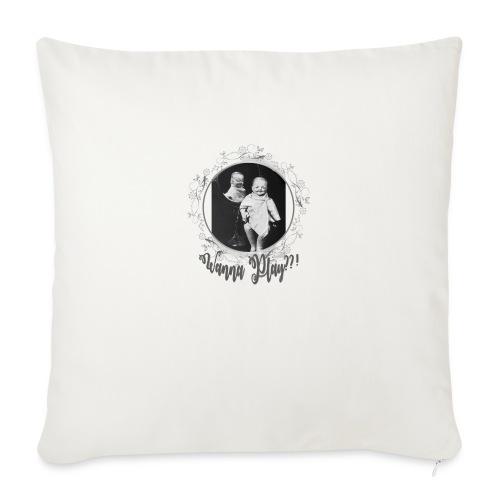 Wanna play - Sofa pillowcase 17,3'' x 17,3'' (45 x 45 cm)