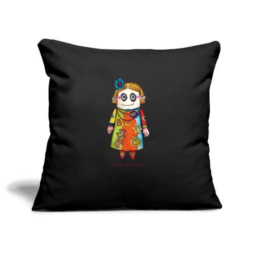 Vauda la poupée - Housse de coussin décorative 45x 45cm