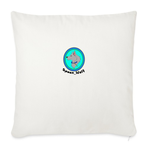 Spoon_Wolf_2-png - Sofa pillowcase 17,3'' x 17,3'' (45 x 45 cm)
