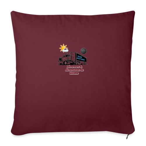 Team routiers - Housse de coussin décorative 45x 45cm