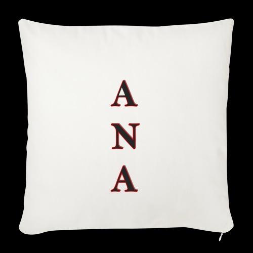ANA - Funda de cojín, 45 x 45 cm
