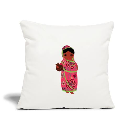 Lovedesh Art - Ira Kolshi Doll - Sofa pillowcase 17,3'' x 17,3'' (45 x 45 cm)