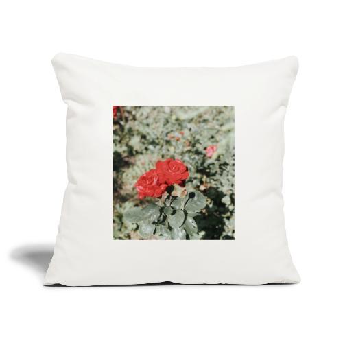 Red rose - Pudebetræk 45 x 45 cm