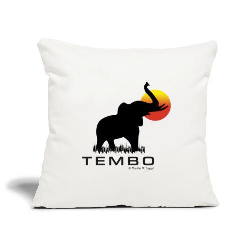 elephant - Tembo - Sofakissenbezug 44 x 44 cm