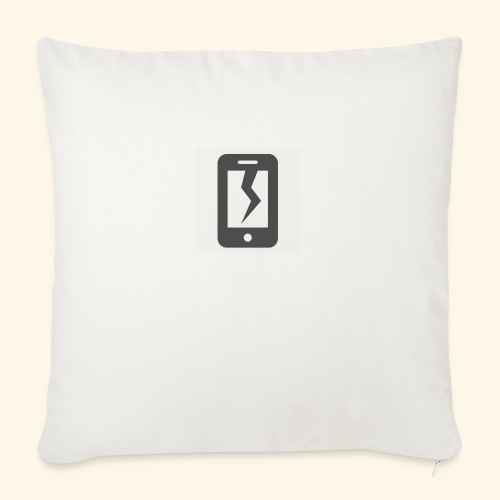 Tech Destruction - Sofa pillowcase 17,3'' x 17,3'' (45 x 45 cm)