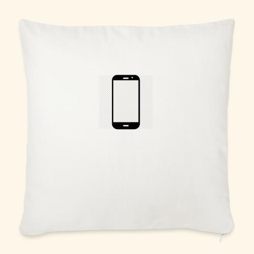 Phone clipart - Sofa pillowcase 17,3'' x 17,3'' (45 x 45 cm)