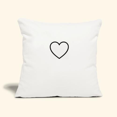 heart 512 - Pudebetræk 45 x 45 cm