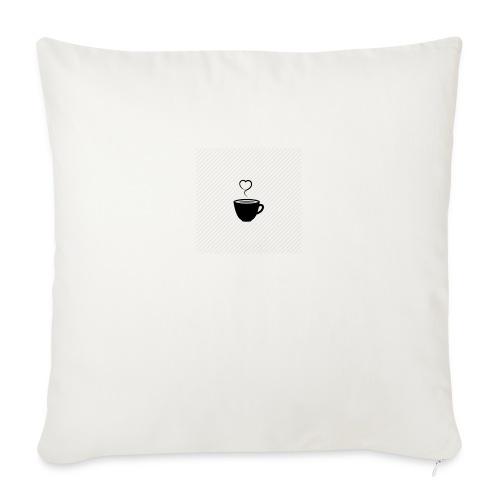 Love Tea Print - Sofa pillowcase 17,3'' x 17,3'' (45 x 45 cm)