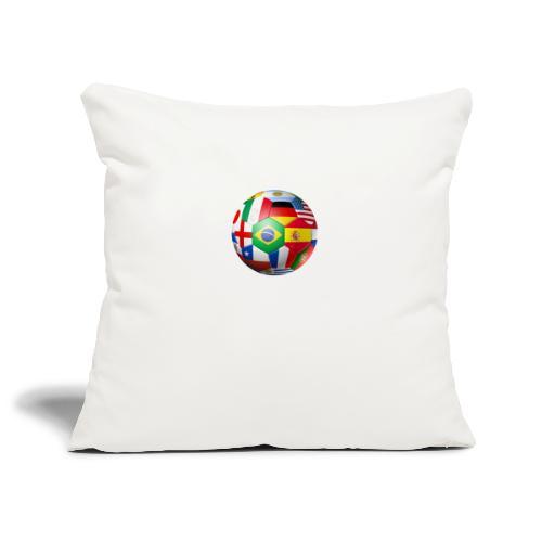 Brasil Bola - Sofa pillowcase 17,3'' x 17,3'' (45 x 45 cm)