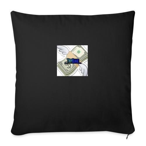 Money is strong - Sofa pillowcase 17,3'' x 17,3'' (45 x 45 cm)