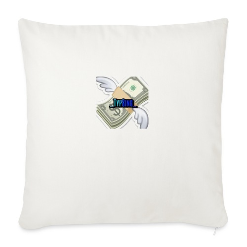 Money is strong - Sofa pillowcase 17,3'' x 17,3'' (45 x 45 cm)