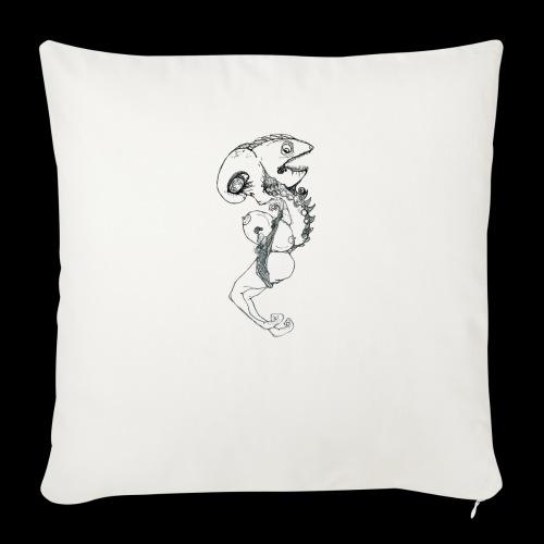 Wormfish Elephantman - Sofakissenbezug 44 x 44 cm