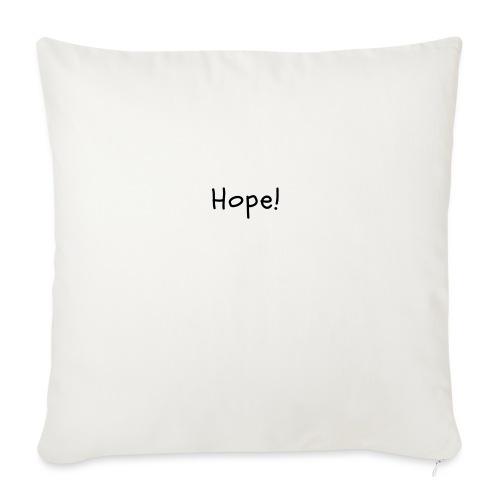 Hope - Funda de cojín, 45 x 45 cm
