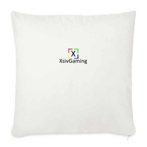 XsivGaming Logo - Sofa pillowcase 17,3'' x 17,3'' (45 x 45 cm)