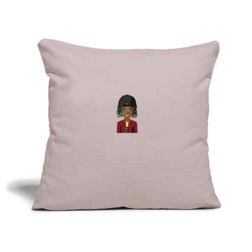 Jay Ava 2.0 - Sofa pillowcase 17,3'' x 17,3'' (45 x 45 cm)