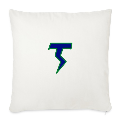 Thunder T png - Sofa pillowcase 17,3'' x 17,3'' (45 x 45 cm)