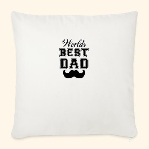 Worlds best dad - Pudebetræk 45 x 45 cm