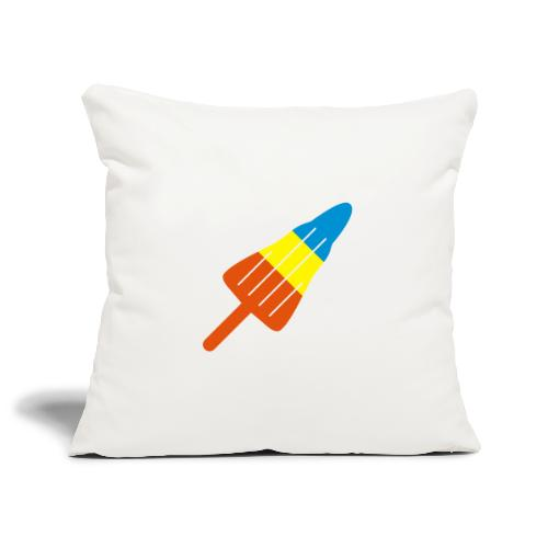 ZOOM ROCKET LOLLY: choose three different flavours - Sofa pillowcase 17,3'' x 17,3'' (45 x 45 cm)