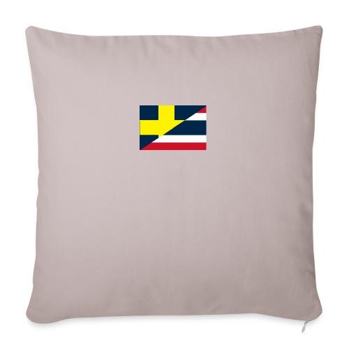Sverige Thailand - Soffkuddsöverdrag, 45 x 45 cm